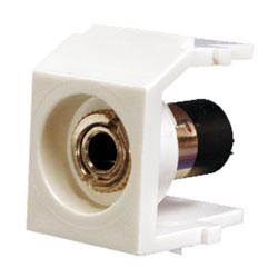 Panduit® NetKey Keystone Module with 3.5mm Stereo Solder Type Headset Coupler