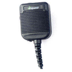 Impact Radio Accessories IP68 Public Safety Grade Speaker Microphone with Hi/Lo Volume for M11