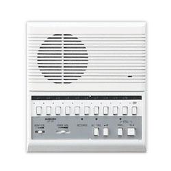Aiphone 10-Call Semi-Flush Mount Master Station