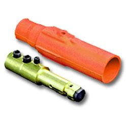 Leviton 17 Series Double Set Screw Taper Nose Detachable Plug - Male