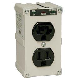 Tripp Lite Office Machine 2 AC Isobar Direct Plug-in Surge Suppressor