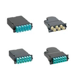 Panduit® 12 Fiber Cassette Optimized OM3 Duplex LC to 1 MPO
