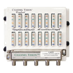 Channel Vision Telephone / Video Combination Unit