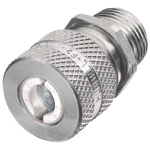 Hubbell SHC Machined Aluminum Male Cord Connector