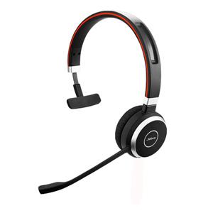 Jabra Evolve 65 Microsoft Skype for Business Wireless Headset (Mono)