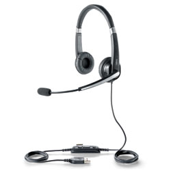 GN Netcom UC Voice 550 USB Corded Headset for Microsoft Lync 2010 and Office Communicator 2007