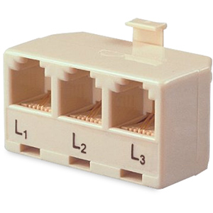 Allen Tel Triplex Splitter Adapter