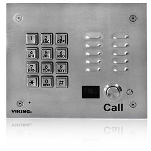 Viking Vandal Resistant Video Entry Phone with Keypad