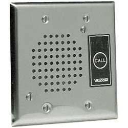 Valcom Flush Mount Doorplate Speaker with LED