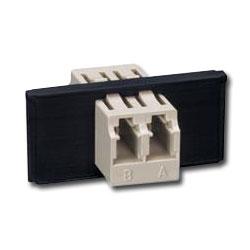 Siemon FOB Bezel with 1 Duplex LC Adapter (2 Fibers)