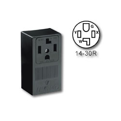 Leviton 125/250V Surface Mount Receptacle