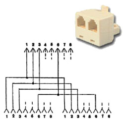 Allen Tel 10 Base T Adapter