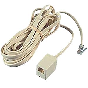 Allen Tel Single Modular Extension Cord
