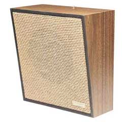 Valcom One-Way Woodgrain Wall Speaker (Weave)
