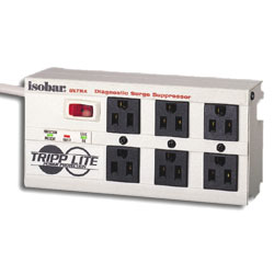 Tripp Lite 6 AC Outlet Ultra Diagnostic Surge Suppressor