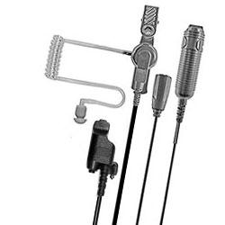 Pryme Heavy Duty 3-Wire Surveillance Kit for EF Johnson and Motorola Radios