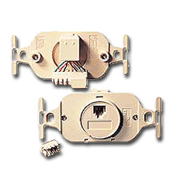 Leviton 6P4C Type 105 Modular Jack with 110-Type Termination