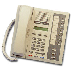 Vertical-Comdial 12-Line LCD Speakerphone