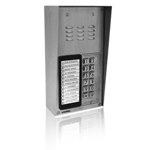 Viking 12 Button Apartment Entry Phone with Built in Door Strike Relay