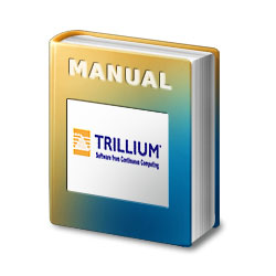 Trillium Panther 612 System Manual