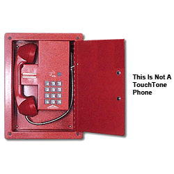 Allen Tel Elevator Phone Package with Pulse (Rotary) Dial